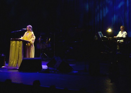 Lisa Gerrard and Patrick Cassidy perform some of their collaborative work
