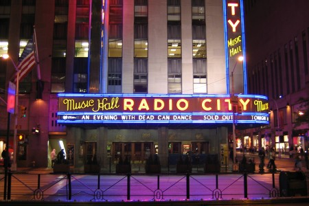 Dead Can Dance at Radio City Hall, New York