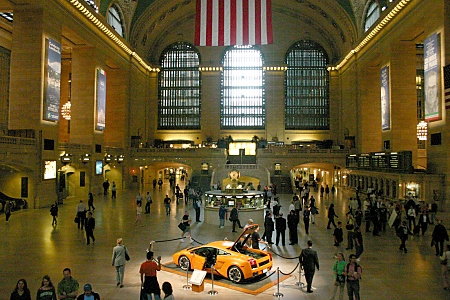 The interior of Grand Central Station, New York City