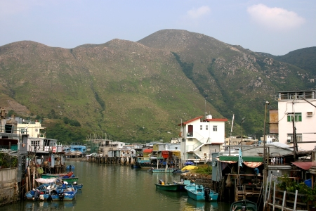 Hong Kong's Tai O fishing village