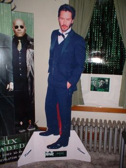 Example cardboard cut-out standee