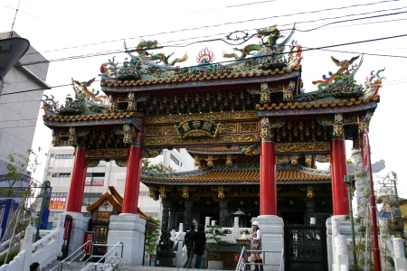 A Temple in Yokohama's China Town